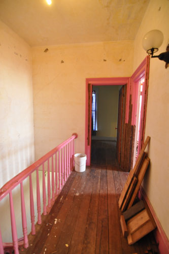 Upstairs hall before