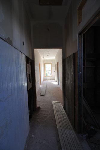 Bathroom hall after