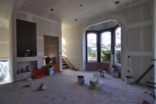 Kitchen facing back