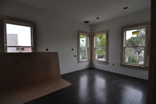 Back bedroom floor