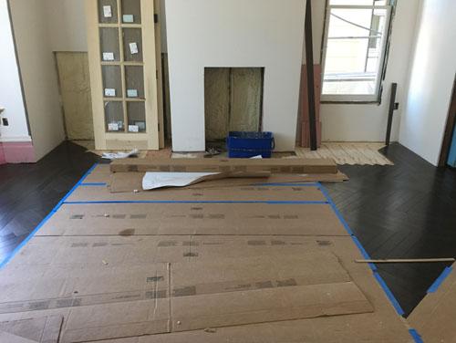 Front parlour floor
