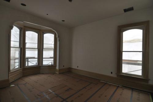 Front bedroom trim