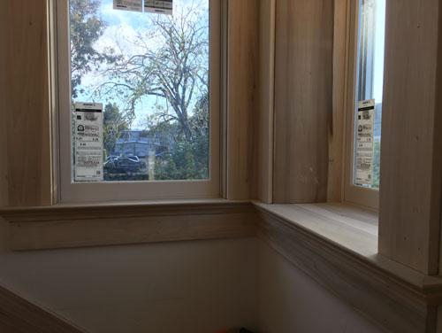 Landing windowsills