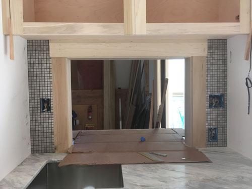 Pantry wall tile