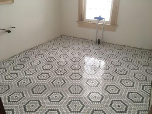 Accordion Room floor