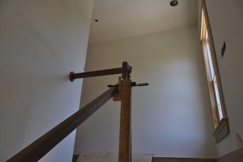 Upper handrail