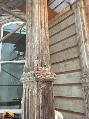 Front porch column
