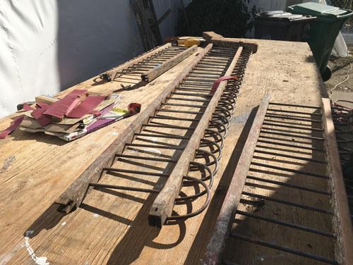 Front porch decorative rail