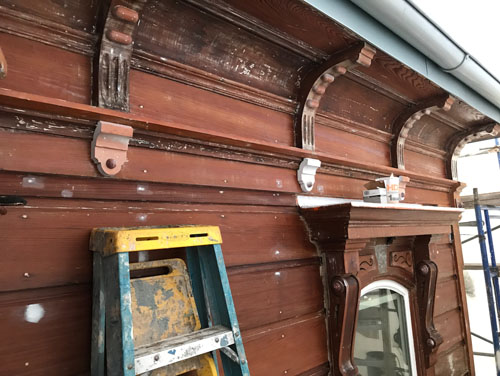 Restore brackets and shields