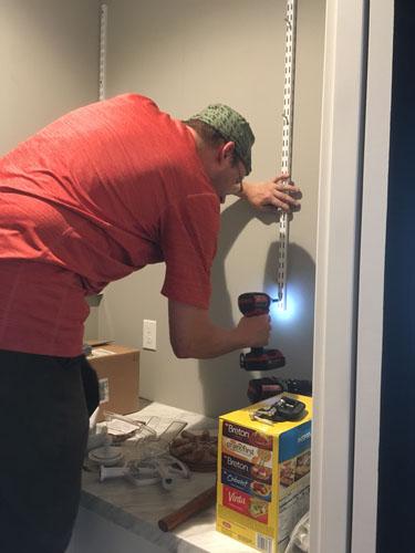 Installing shelf standards